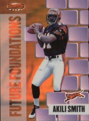 1999 Bowman's Best Future Foundations #FF9 Akili Smith