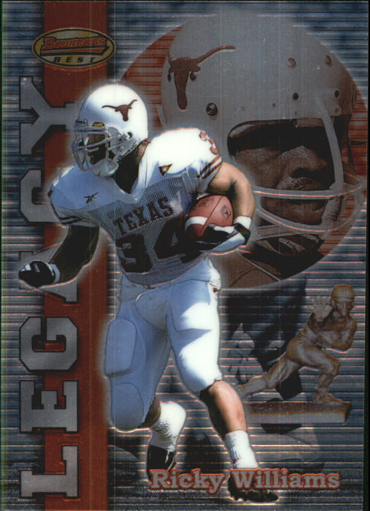 1999 Bowman's Best Legacy #L1 Ricky Williams