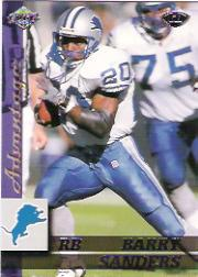 1999 Collector's Edge Advantage #57 Barry Sanders