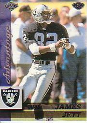 1999 Collector's Edge Advantage #114 James Jett