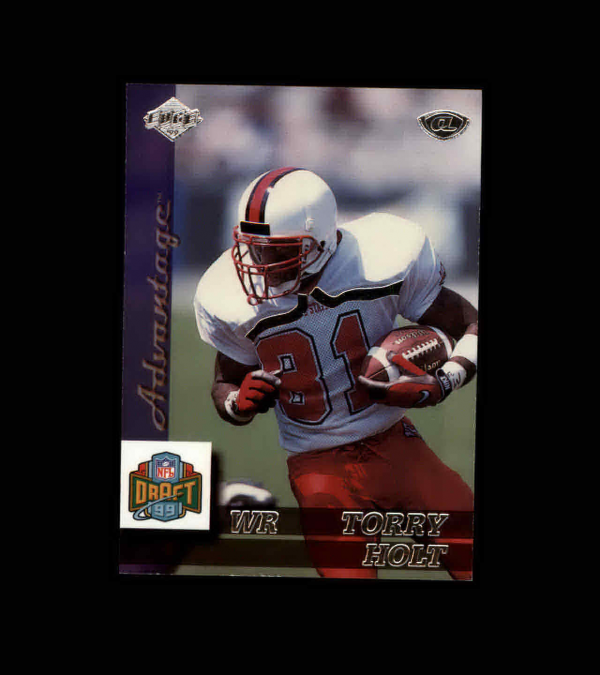 1999 Collector's Edge Advantage #167 Torry Holt RC UER/(incorrect college on back)