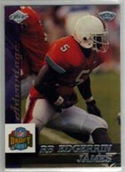 1999 Collector's Edge Advantage #170 Edgerrin James RC