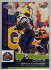 1999 Collector's Edge Advantage #177 Chris McAlister RC