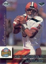 1999 Collector's Edge Advantage #179 Donovan McNabb RC