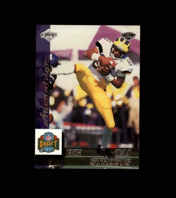 1999 Collector's Edge Advantage #184 Tai Streets RC