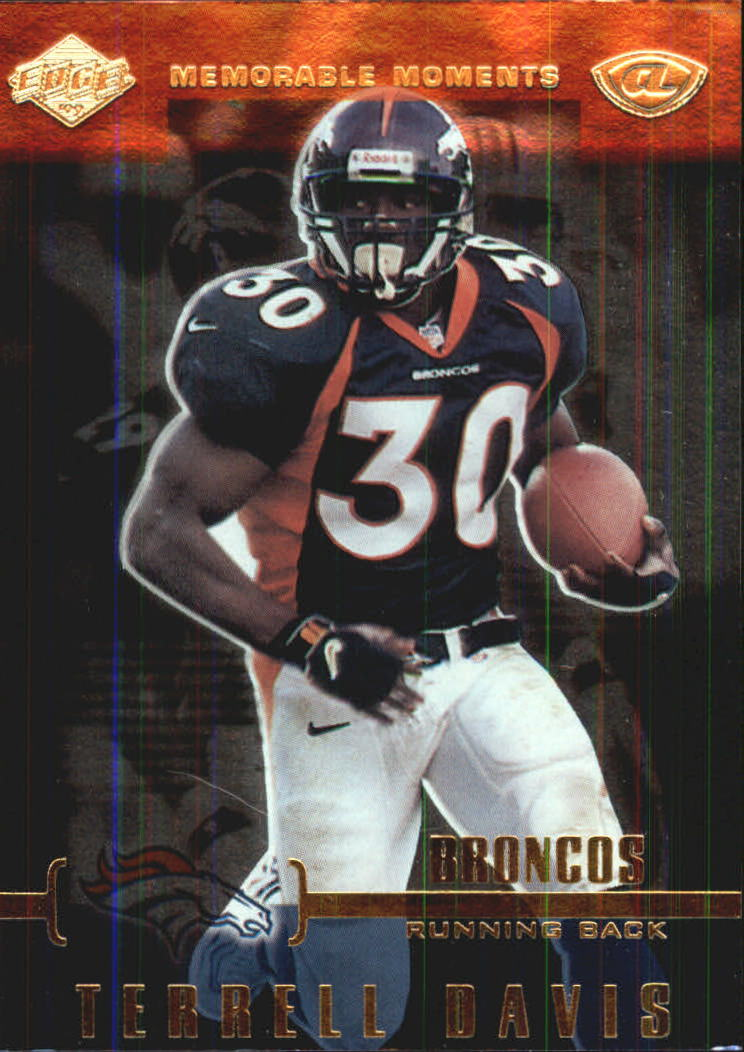 1999 Collector's Edge Advantage Memorable Moments #MM1 Terrell Davis