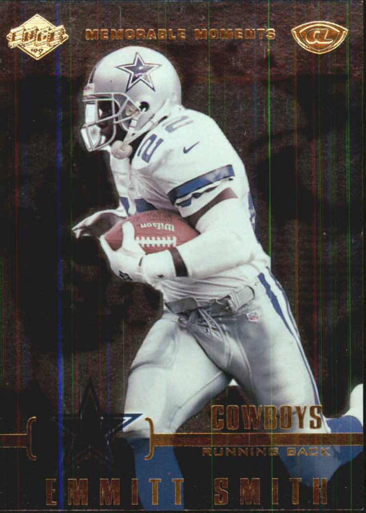 1999 Collector's Edge Advantage Memorable Moments #MM4 Emmitt Smith