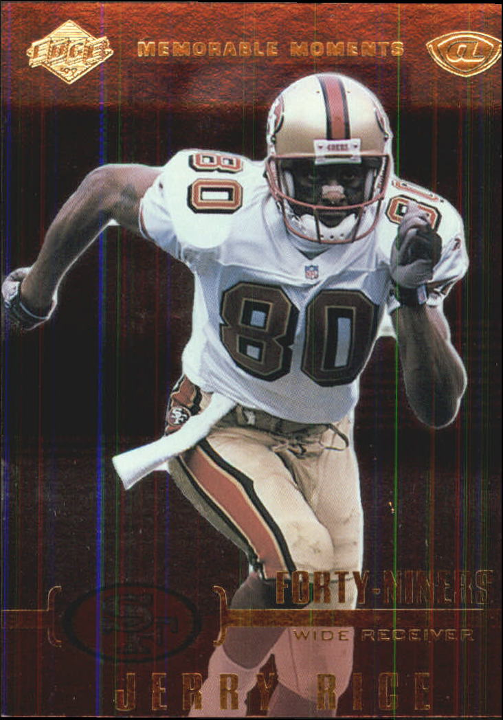 1999 Collector's Edge Advantage Memorable Moments #MM9 Jerry Rice