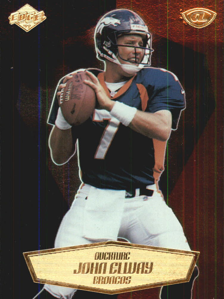 1999 Collector's Edge Advantage Overture #3 John Elway