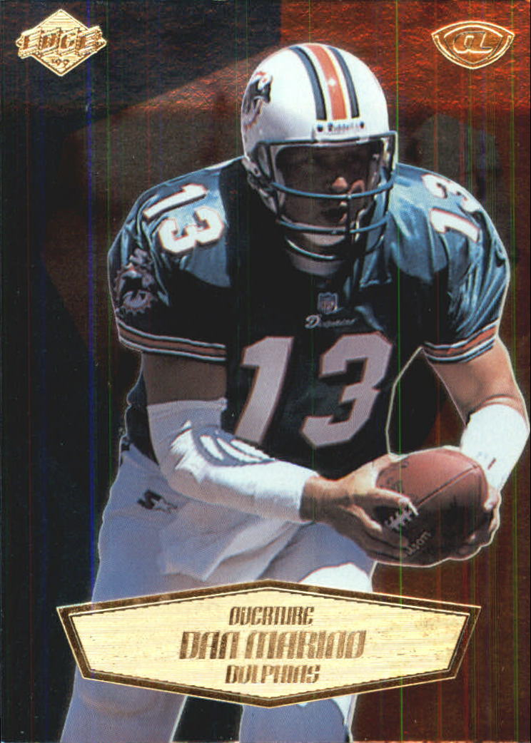 1999 Collector's Edge Advantage Overture #6 Dan Marino