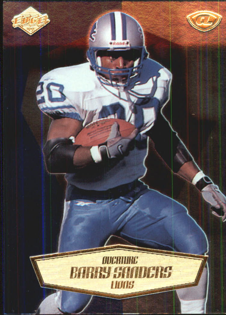 1999 Collector's Edge Advantage Overture #9 Barry Sanders