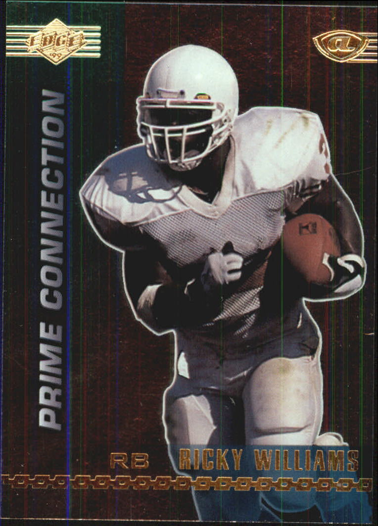 1999 Collector's Edge Advantage Prime Connection #PC1 Ricky Williams