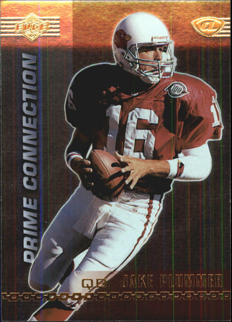1999 Collector's Edge Advantage Prime Connection #PC12 Jake Plummer