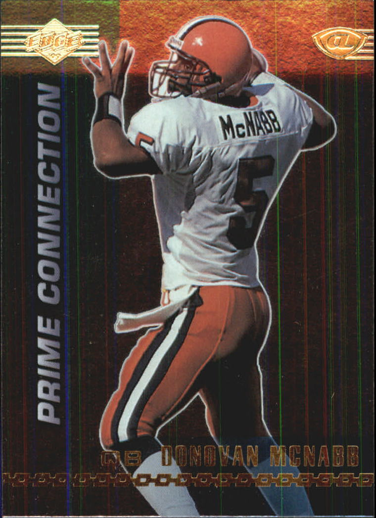1999 Collector's Edge Advantage Prime Connection #PC13 Donovan McNabb