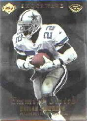 1999 Collector's Edge Advantage Shockwaves #SW5 Emmitt Smith front image
