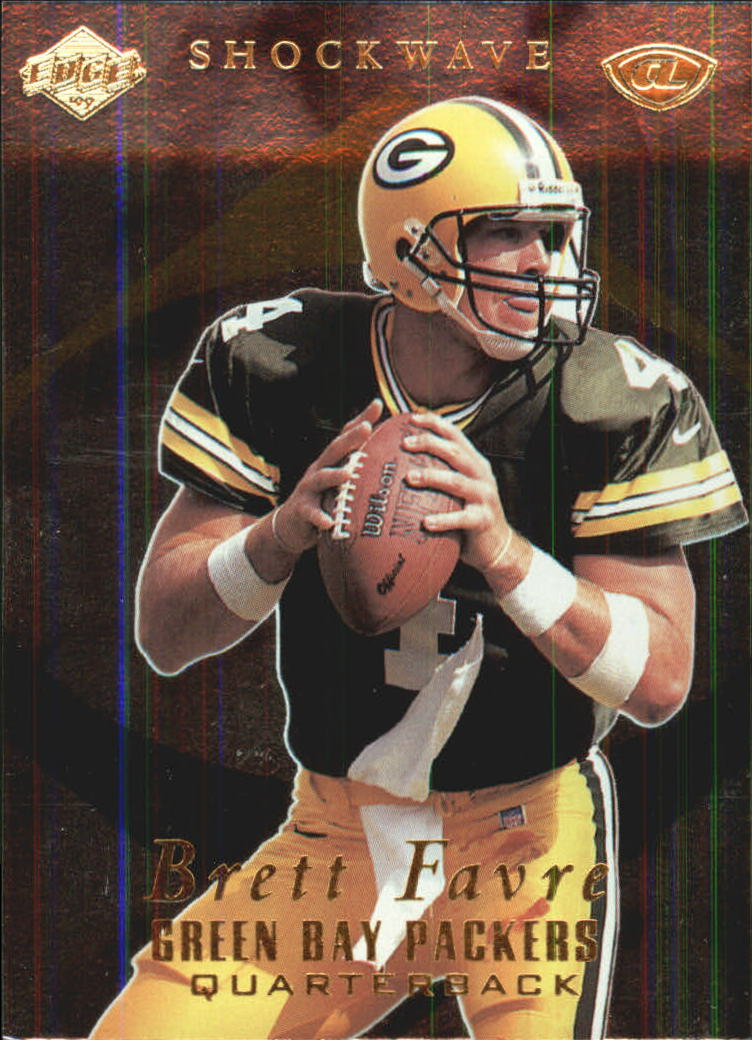 1999 Collector's Edge Advantage Shockwaves #SW9 Brett Favre front image