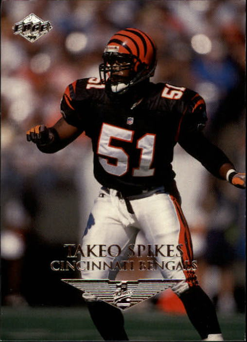 1999 Collector's Edge First Place #35 Takeo Spikes