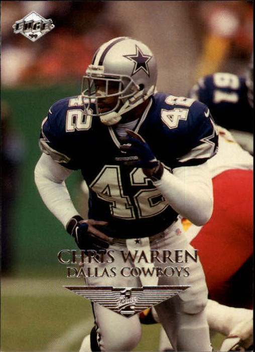 1999 Collector's Edge First Place #46 Chris Warren