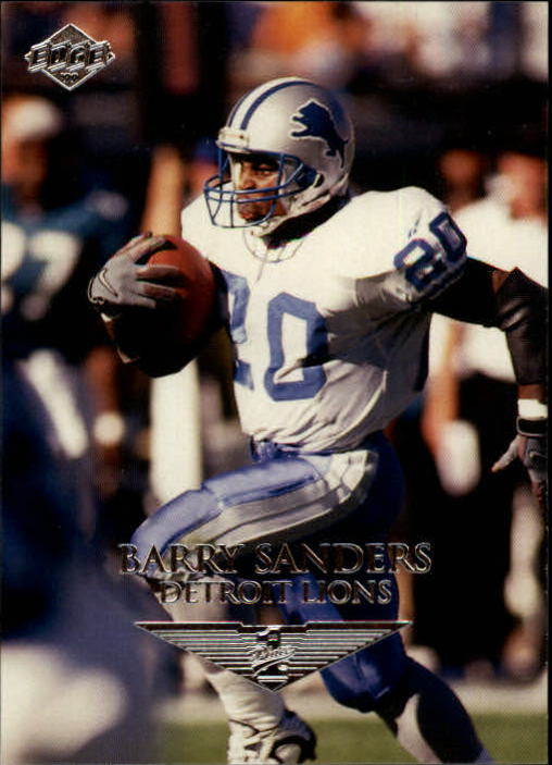 1999 Collector's Edge First Place #57 Barry Sanders