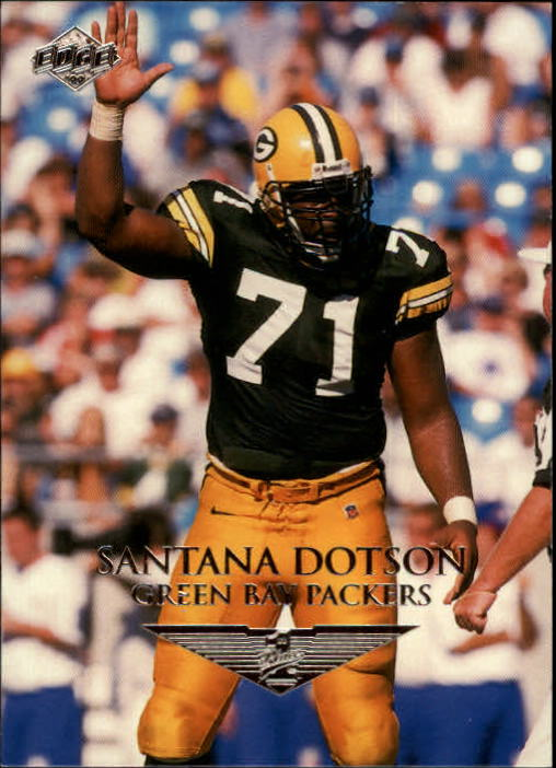 1999 Collector's Edge First Place #58 Santana Dotson