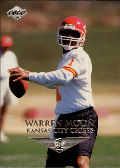 1999 Collector's Edge First Place #74 Warren Moon