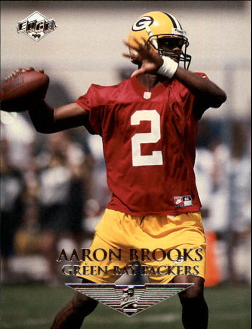1999 Collector's Edge First Place #168 Aaron Brooks RC