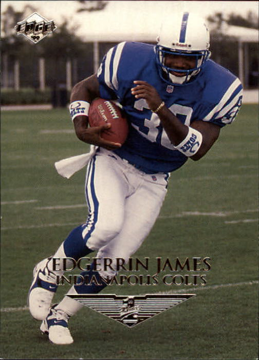 1999 Collector's Edge First Place #170 Edgerrin James RC