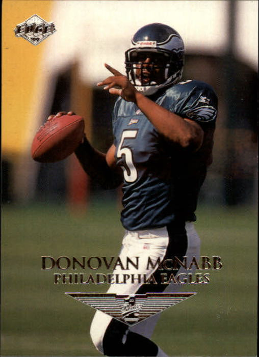 1999 Collector's Edge First Place #185 Donovan McNabb RC