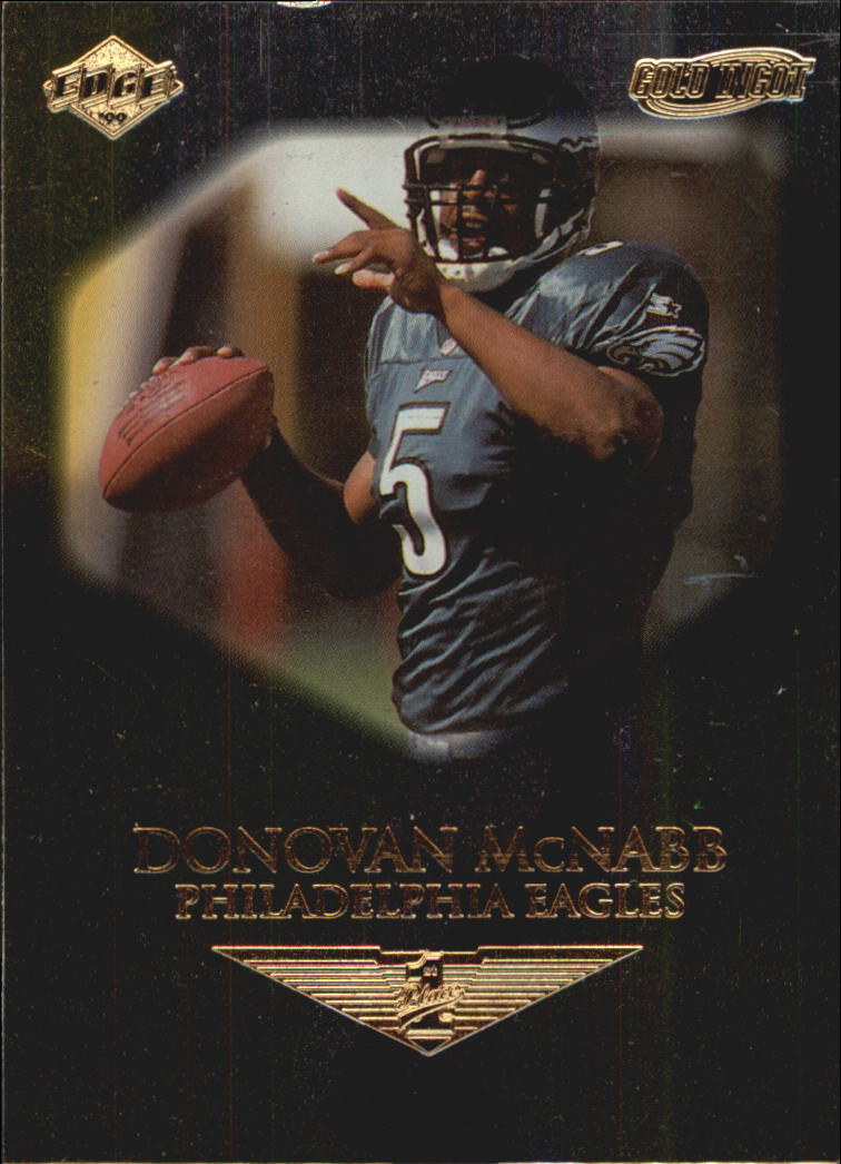 1999 Collector's Edge First Place Gold Ingot #185 Donovan McNabb