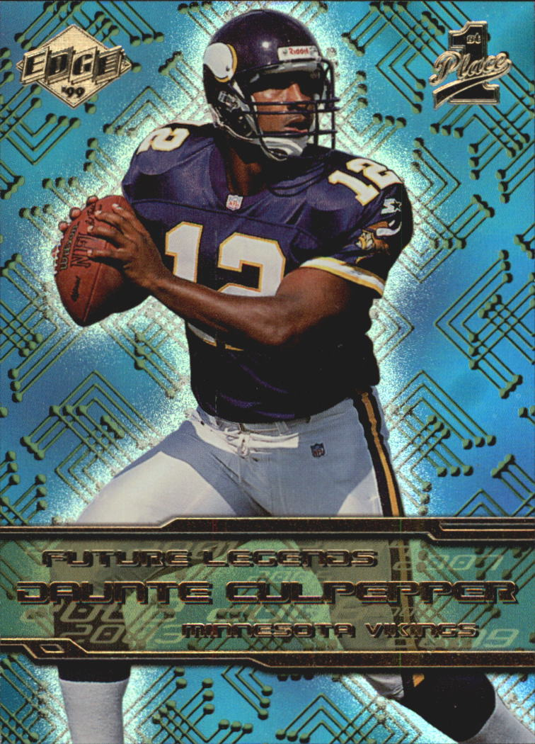 1999 Collector's Edge First Place Future Legends #FL9 Daunte Culpepper