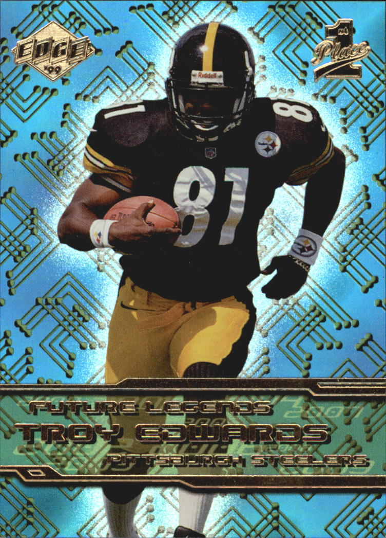 1999 Collector's Edge First Place Future Legends #FL11 Troy Edwards