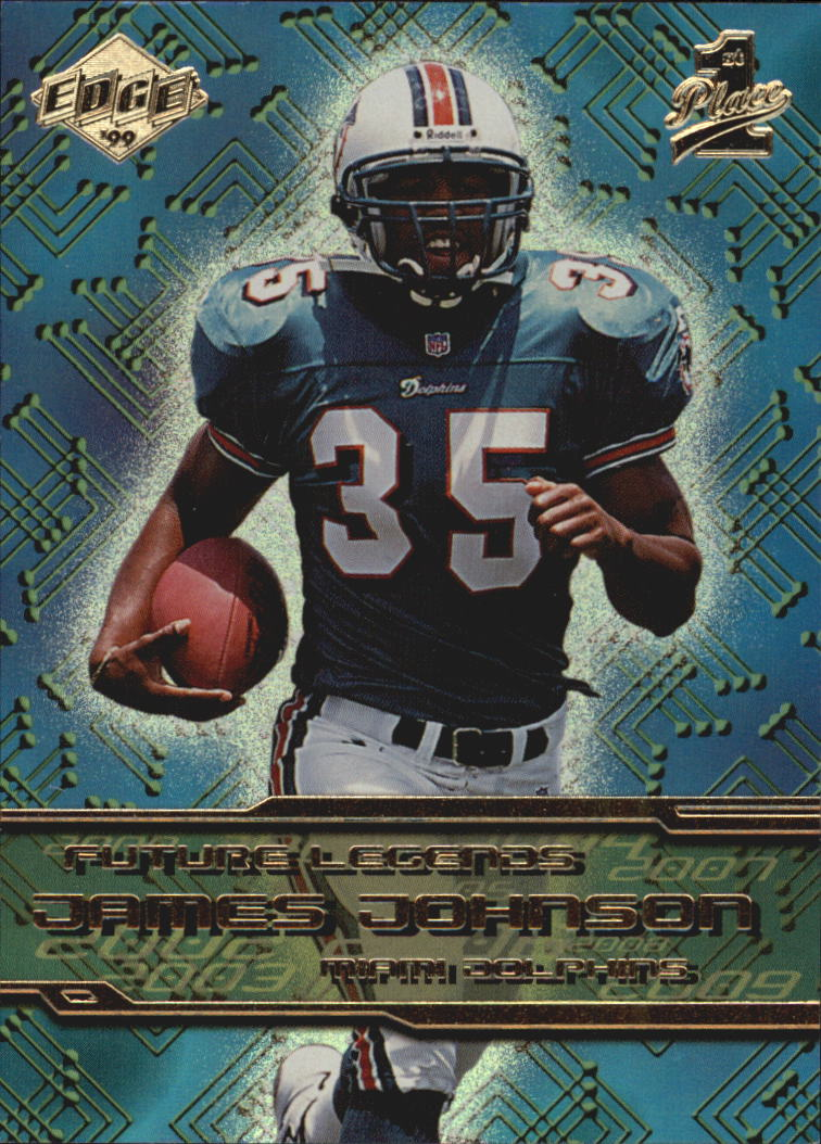 1999 Collector's Edge First Place Future Legends #FL16 James Johnson