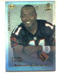 1999 Collector's Edge First Place Rookie Game Gear HoloGold #RG3 Akili Smith