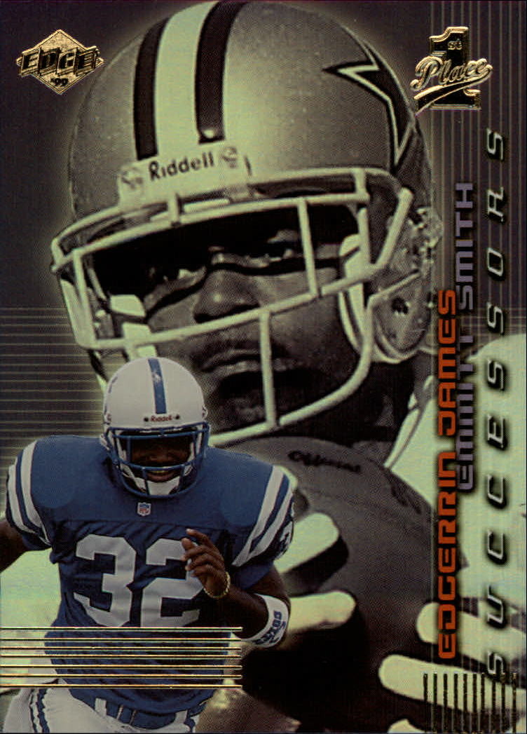 1999 Collector's Edge First Place Successors #S7 E.James/E.Smith front image