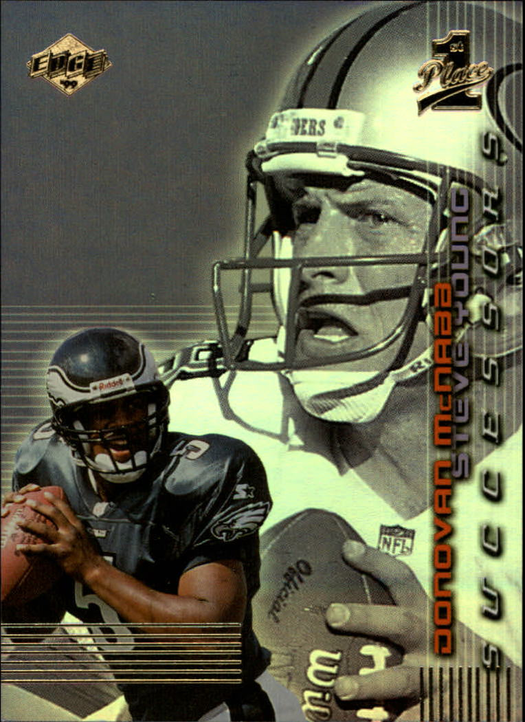 1999 Collector's Edge First Place Successors #S12 D.McNabb/S.Young front image