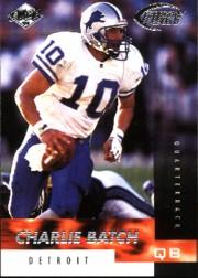 1999 Collector's Edge Fury #10 Charlie Batch