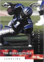 1999 Collector's Edge Fury #14 Tim Biakabutuka