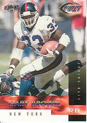 1999 Collector's Edge Fury #19 Gary Brown
