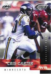 1999 Collector's Edge Fury #24 Cris Carter