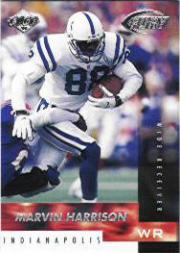 1999 Collector's Edge Fury #62 Marvin Harrison