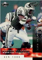 1999 Collector's Edge Fury #91 Curtis Martin