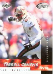 1999 Collector's Edge Fury #107 Terrell Owens