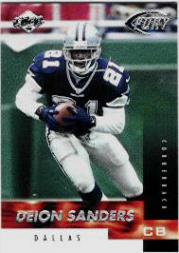 1999 Collector's Edge Fury #117 Deion Sanders