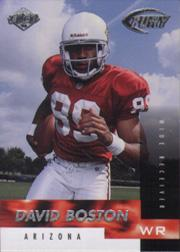 1999 Collector's Edge Fury #156 David Boston RC