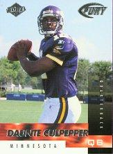 1999 Collector's Edge Fury #162 Daunte Culpepper RC
