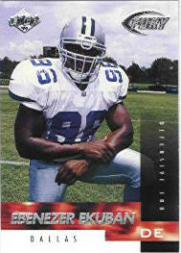 1999 Collector's Edge Fury #165 Ebenezer Ekuban RC