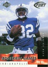 1999 Collector's Edge Fury #173 Edgerrin James RC