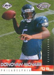 1999 Collector's Edge Fury #186 Donovan McNabb RC