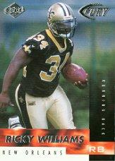 1999 Collector's Edge Fury #196 Ricky Williams RC