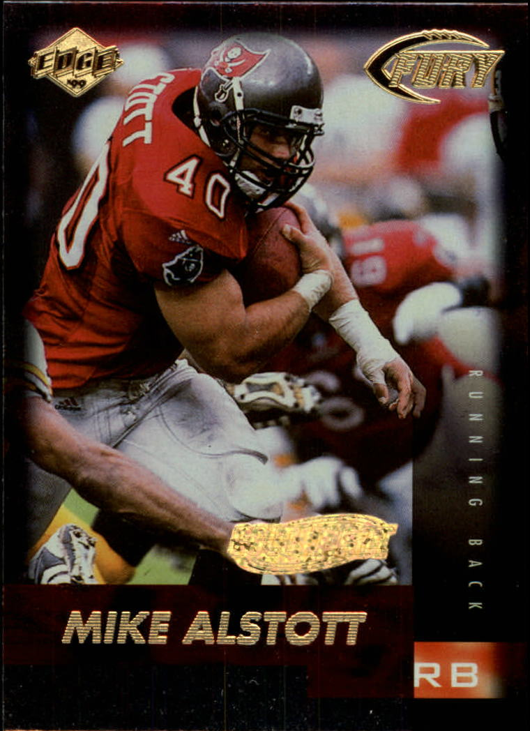 1999 Collector's Edge Fury Gold Ingot #6 Mike Alstott